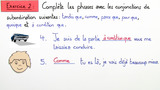 Unterordnende Konjunktionen – les conjonctions de subordination (Übungsvideo 2)