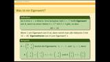 Eigenwerte - Definition und Berechnung