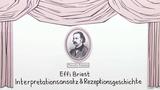 """Effi Briest"" – Interpretationsansatz und Rezeptionsgeschichte (Fontane)"