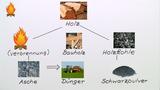 Brennstoffe und Verbrennungsprodukte