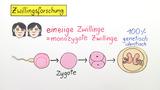 Zwillingsforschung – Gene und Umwelteinfluss