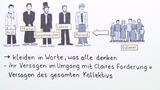 """""""Der Besuch der alten Dame"""" – Personenkonstellation (Dürrenmatt)"""