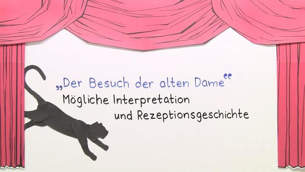 """""""Der Besuch der alten Dame"""" – Interpretationsansatz und Rezeptionsgeschichte (Dürrenmatt)"""