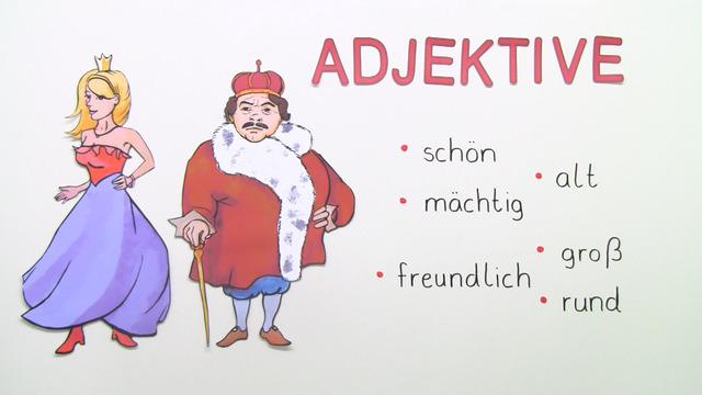 person beschreiben adjektive