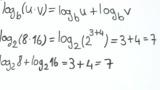 Erstes Logarithmusgesetz (2)