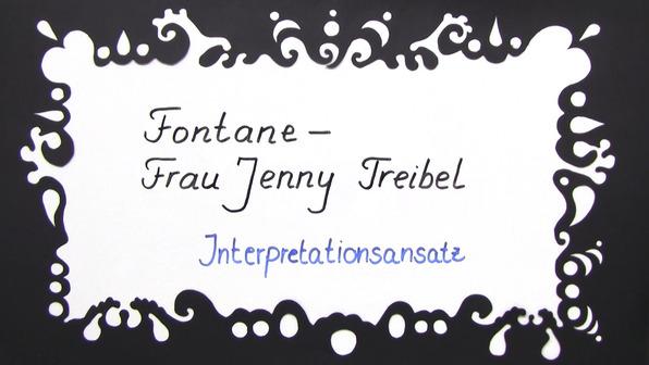 """Frau Jenny Treibel"" – Interpretationsansatz und Rezeptionsgeschichte (Fontane)"