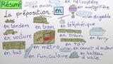 """Verkehrsmittel in Frankreich mit """"aller"""" und Präposition"""