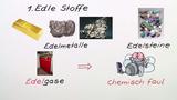 Typische Eigenschaften von Edelgasen