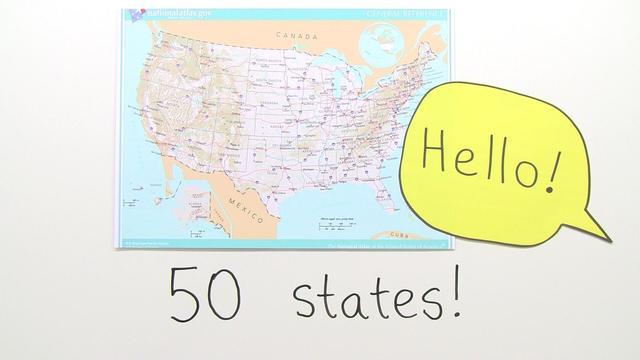 USA – 50 States of America