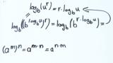 Drittes Logarithmusgesetz