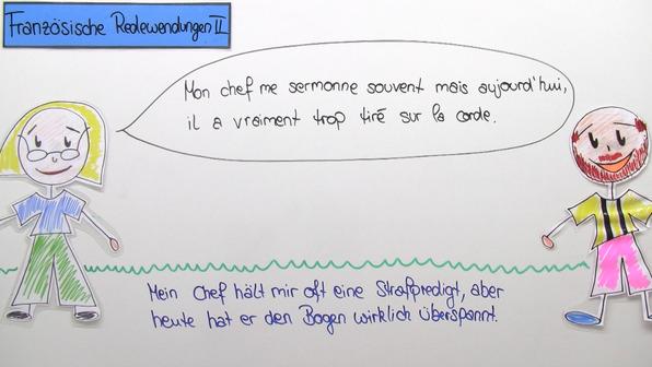 Französische Redewendungen (2)
