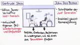 """""""Tauben im Gras"""" – Entstehungsgeschichte (Koeppen)"""