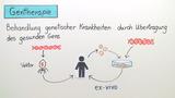 Gentechnik in der Medizin