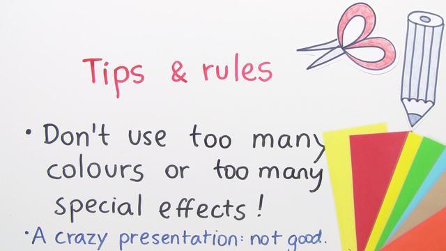Giving a Presentation –  Wie hält man einen Vortrag?
