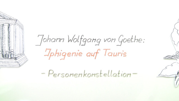 """""""Iphigenie auf Tauris"""" – Personenkonstellation (Goethe)"""