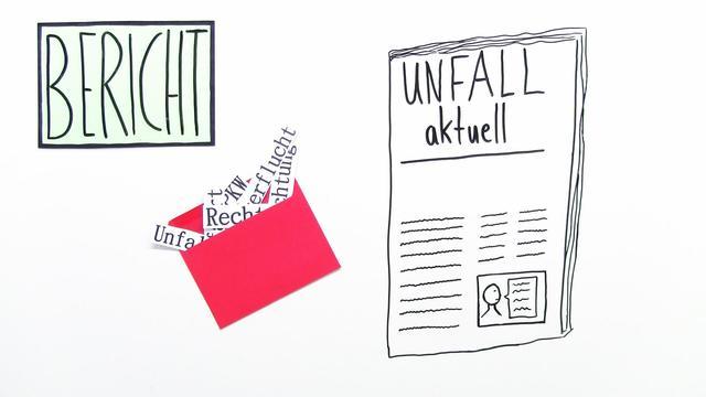 Unfallberichte schreiben - Deutsch Themen einfach erklärt!