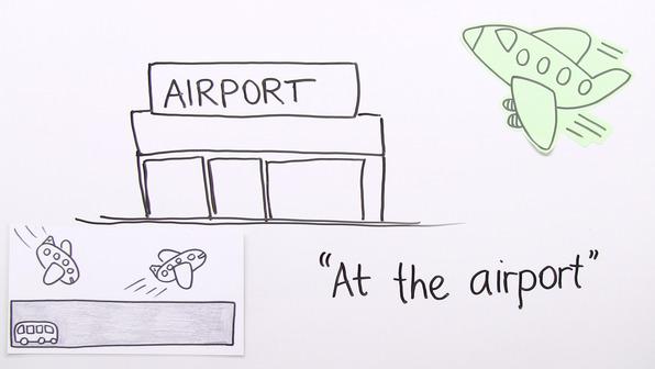 At the Airport – Vokabeln zum Thema Flughafen und Reisen