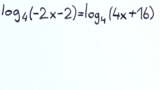 Logarithmusgleichungen lösen – Übung (6)