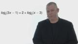 Logarithmusgleichungen lösen – Übung (9)