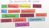 Die Geschichte der Wörter