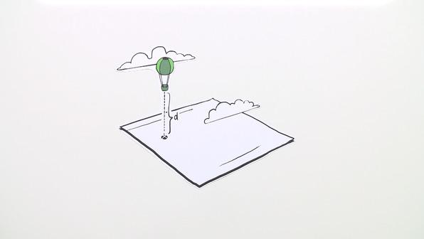 Abstandsberechnung mit der Hesseschen Normalenform – Übung