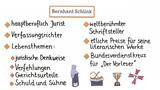 Bernhard Schlink – Leben und Werk