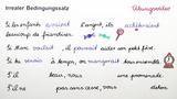 Si-Sätze – irrealer Bedingungssatz der Gegenwart (Übungsvideo)