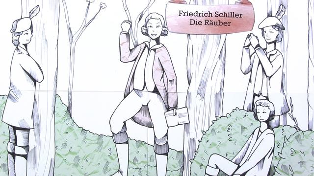 """""""Die Räuber"""" – Entstehungsgeschichte (Schiller)"""