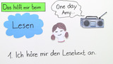 How to read – Wie lese ich Texte?