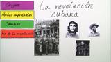 Cuba: La revolución cubana