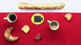 Französisches Frühstück  – le petit-déjeuner