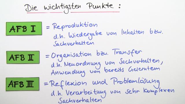 Operatoren - Signalwörter im Deutschunterricht verstehen