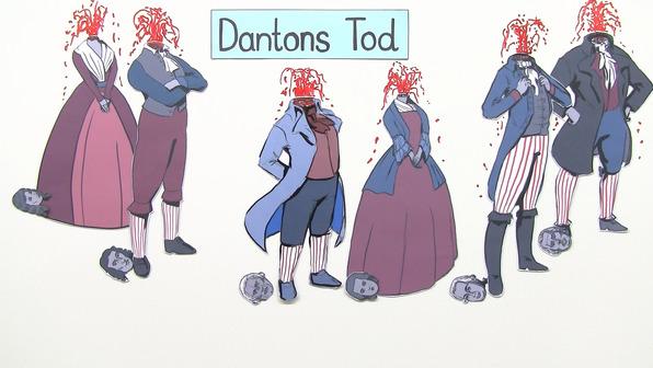 """Dantons Tod"" – Personenkonstellation (Büchner)"