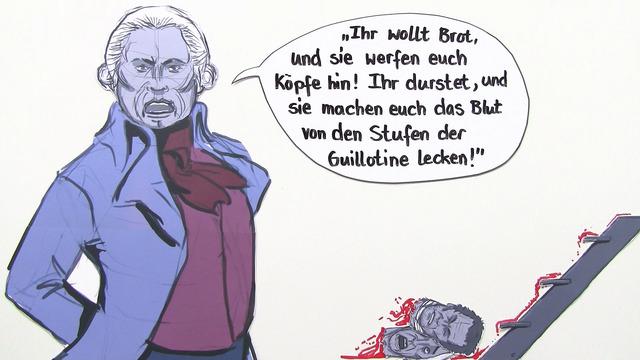 """""""Dantons Tod"""" – Interpretationsansatz und Rezeptionsgeschichte (Büchner)"""