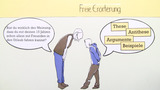 Freie Erörterung