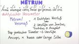 Metrik – Einführung