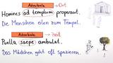 Was sind Adverbialien?