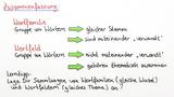 Vokabeln mit Wortfamilien und Wortfeldern lernen