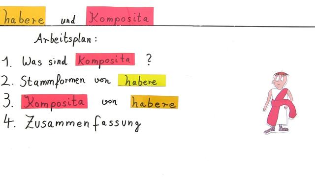 habere und Komposita