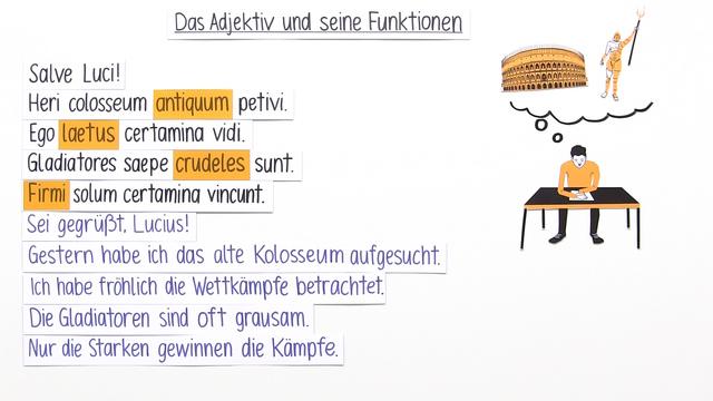 Verwendung von Adjektiven und Adverbien online lernen