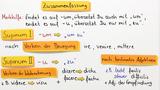 Supinum I und II - Beispiele