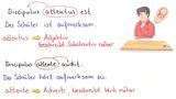 Was ist ein Adverb?