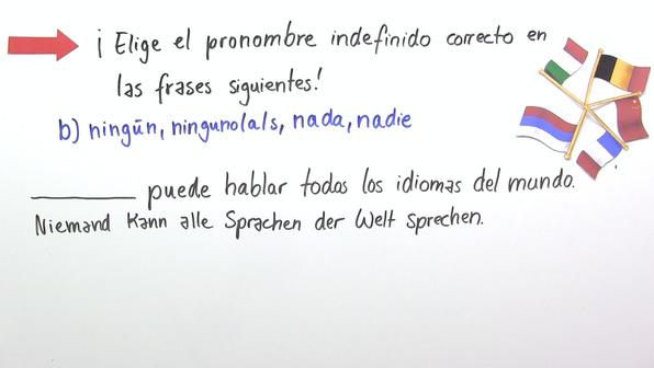 Indefinitpronomen und -begleiter (Übungsvideo 1)