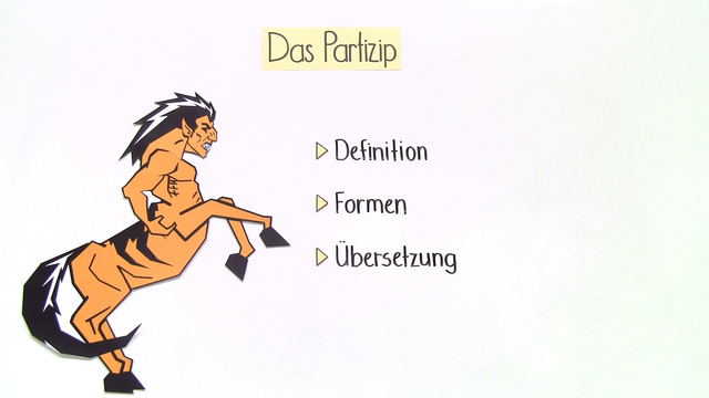 Partizipien (PPA und PPP) – Einführung