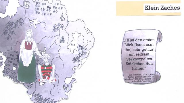 """""""Klein Zaches genannt Zinnober"""" – Inhaltsangabe (Hoffmann)"""
