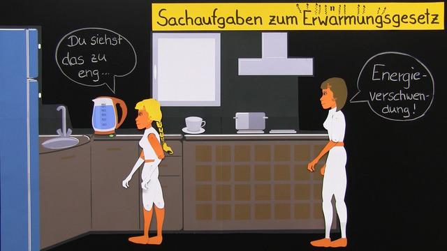 Erwärmungsgesetz (Übungsvideo)