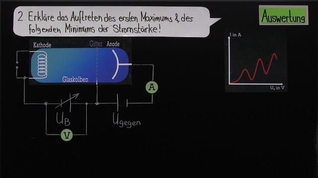 Franck-Hertz-Versuch (Übungsvideo)