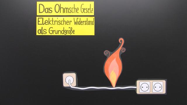 Ohm'sches Gesetz – elektrischer Widerstand