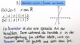 Parameter in der Mathematik