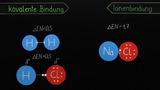 Kovalente und ionische Bindungen